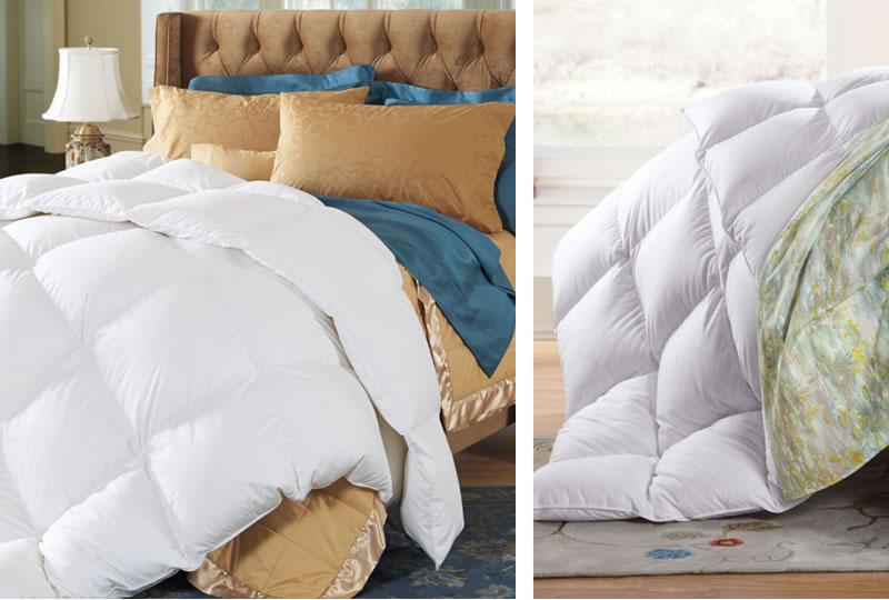 羽毛布団のコーディネート例